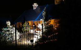 Ночная Рождественская Литургия на Лесном Кладбище