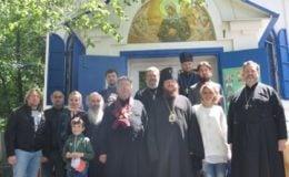 Приходская община на Святошинском кладбище столицы отметила престольный праздник и своё 10-летие