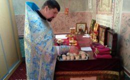 Божественная Литургия на Лукьяновском кладбище г.Киева