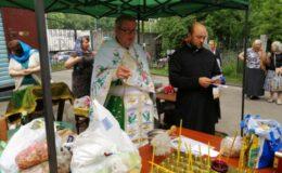 Престольный Праздник в храме св. блж. Ксении Петербургской на Святошинском кладбище