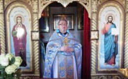 Юбилей священнической хиротонии настоятеля храма святой блаженной Ксении Петербургской(Святошинскоe кладбище)