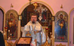 Храмовый праздник на Совском кладбище