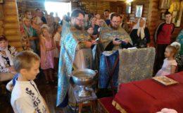 Божественная Литургия и молебен перед началом учебного года на Лесном кладбище