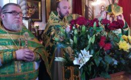 Престольный праздник на Святошинском кладбище